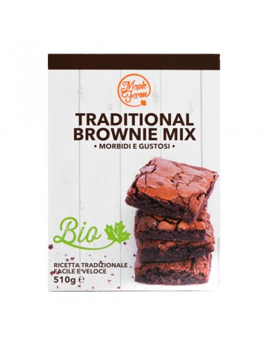 Traditional Brownie Mix Biologico