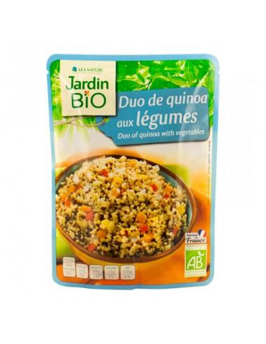Quinoa Bianca e Rossa con Verdure