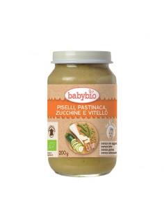 Omogeneizzato Piselli Pastinaca Zucchine e Vitello