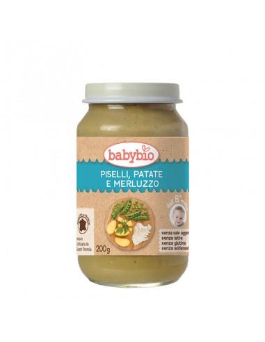 Omogeneizzato Piselli Patate e Merluzzo - dall'8° mese