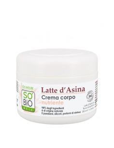Crema Corpo Latte d'Asina e Burro di Karitè Bio
