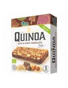 Barrette Quinoa Noci e Cioccolato Fondente